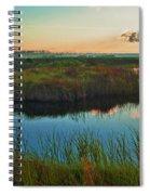 Pink Swamp Sunrise Spiral Notebook