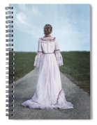 Pink Wedding Dress Spiral Notebook