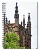 Pinnacles Of St. Mary's Cathedral - Sydney Spiral Notebook