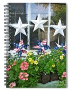 Pinwheels In The Flower Box  Spiral Notebook
