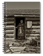 Pioneer Greeting Monochrome Spiral Notebook