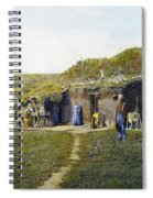 Pioneers Sod House, 1887 Spiral Notebook