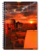 Pipestem Sunset Spiral Notebook