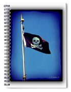 Pirate Flag Spiral Notebook