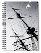 Pirate Ship Spiral Notebook