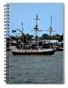 Pirate Ship Of The Matanzas Spiral Notebook