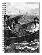 Pirates, 18th Century Spiral Notebook