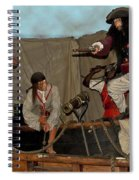 Pirates Of Peril Spiral Notebook
