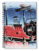 Pirates Ransom - Clearwater Florida Spiral Notebook