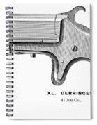 Pistol, 19th Century Spiral Notebook