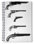 Pistols And Revolvers Spiral Notebook