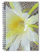 Pitaya Flower Spiral Notebook