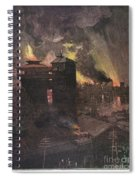 Pittsburgh: Furnaces, 1885 Spiral Notebook