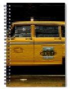 Pixel Taxi Spiral Notebook