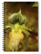 Pixie Orchid Spiral Notebook