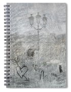 Place Vendome. Paris. France. Europe Spiral Notebook