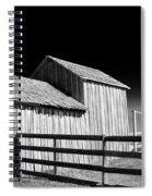 Plains Frontier Farm And Windmill Spiral Notebook