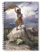 Plains Native American: Signal, 1873 Spiral Notebook
