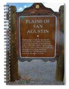 Plains Of San Agustin Spiral Notebook