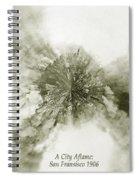Planet Wee San Fransisco 1906 Fire Spiral Notebook