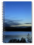 planetary conjunction Mercury Venus and the Moon I Spiral Notebook