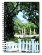 Plantation River Road Spiral Notebook