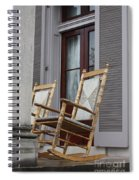 Plantation Rocking Chairs Spiral Notebook