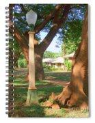Plantation Street Lamp Spiral Notebook