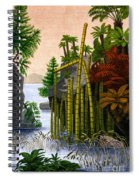 Plants Of The Triassic Period Spiral Notebook