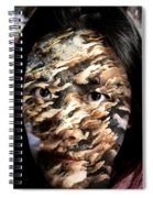 Plates Of Woe Spiral Notebook