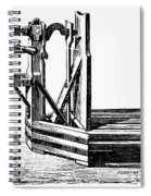 Platform Scale, C1900 Spiral Notebook
