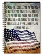 Pledge Spiral Notebook