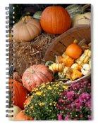 Plentiful Harvest Spiral Notebook