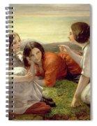 Plotting Mischief Spiral Notebook
