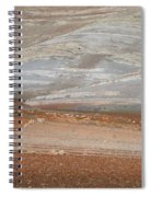 Ploughing In The Atlas Mountains Spiral Notebook