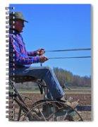 Plowing 1882 Spiral Notebook