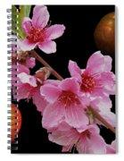 Plum Beautiful Spiral Notebook