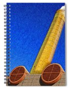 Plume And Doom Spiral Notebook