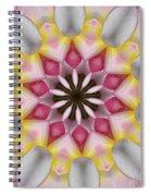 Plumeria 3 Spiral Notebook