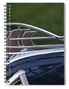 Plymouth Hood Ornament Spiral Notebook