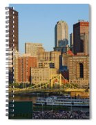 Pnc Park And River Boat Spiral Notebook