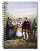 Pocahontas & John Rolfe Spiral Notebook