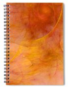Poetic Emotions Abstract Expressionism Spiral Notebook