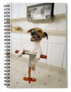 Pogo Dog Spiral Notebook