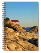 Point Atchison Lighthouse 2 Spiral Notebook
