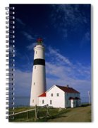 Point Lamour Lighthouse Spiral Notebook