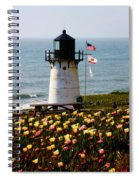 Point Montara Lighthouse Vista Spiral Notebook
