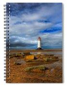 Point Of Ayr Beach Spiral Notebook