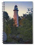 Pointe Aux Barques Lighthouse 7072 Spiral Notebook