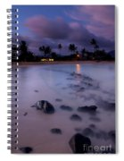 Poipu Evening Storm Spiral Notebook